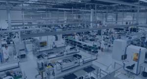 工場内の広範囲Wi-Fiアクセスポイント